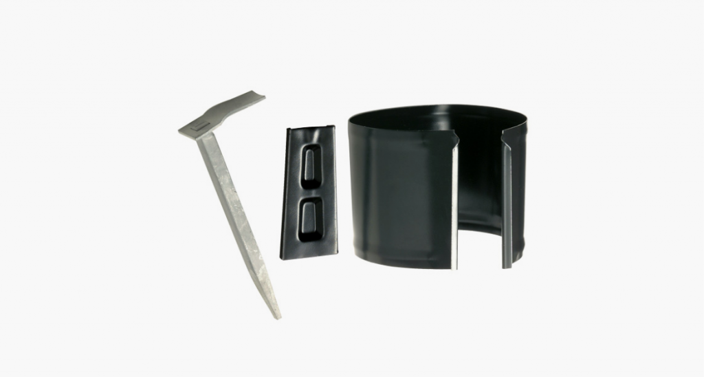 Pipe holder for stone